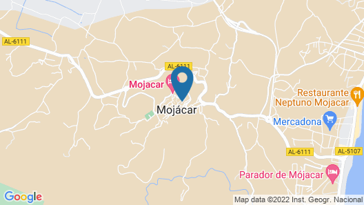 Hotel Mamabels Map