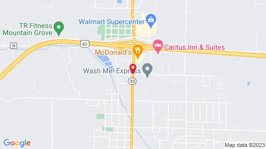 Royal Inn & Suites Map