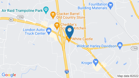 Quality Inn London Map
