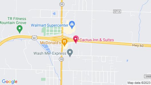 Days Inn by Wyndham Mountain Grove Map