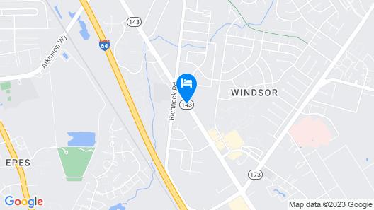 Newport News Inn Map