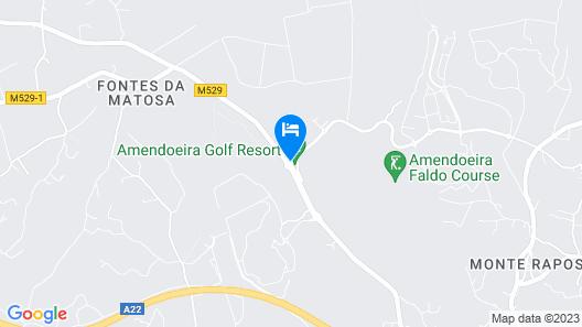 Amendoeira Golf Resort - Apartments and villas Map