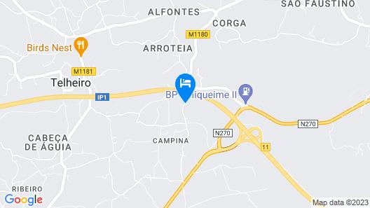Casa Belaventura Map