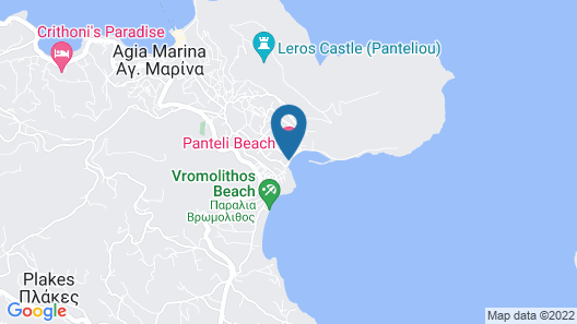Panteli Beach Studios & Apartments Map