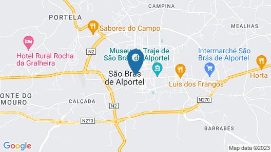 Estalagem Sequeira Map