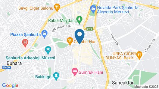 Emir Sultan Hotel Map