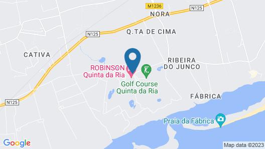 ROBINSON QUINTA DA RIA - All Inclusive Map