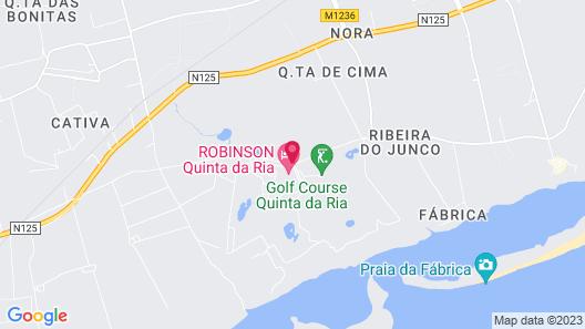 Robinson Club Quinta Da Ria - All-Inclusive Map