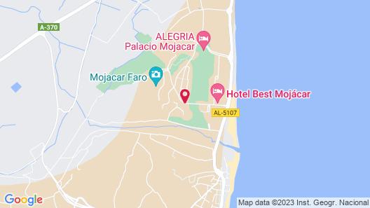 Hotel Servigroup Marina Mar Map
