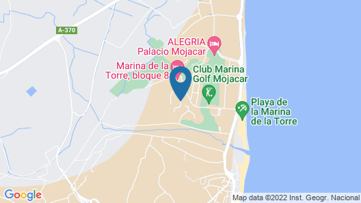 Topligging: Luxury Penthouse, Golf, Terrace 180 ° Fantastic sea View, Free Wifi Map