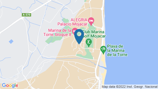 TOP Penthouse : Luxury, Terrace 360 ° View, Sea, Mountains, Golf, Free Wifi, Bbq! Map