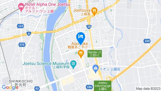 Monzen No Yu Map