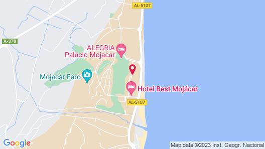 Hotel Best Mojácar Map