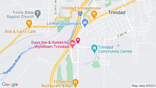 Days Inn & Suites by Wyndham Trinidad Map