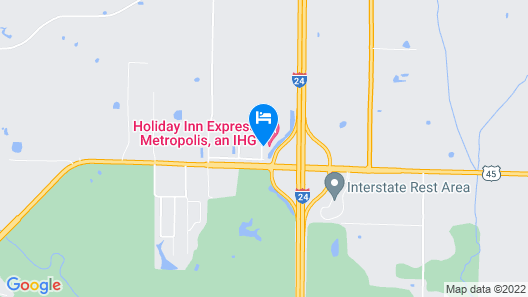 Holiday Inn Express Metropolis, an IHG Hotel Map