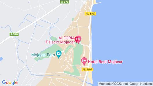 ALEGRIA Palacio Mojacar - Adults Only Map