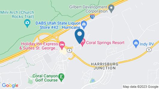 Coral Springs Resort Map