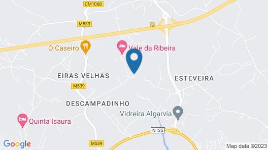 Vale da Ribeira Residences Map