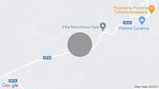 Villa con Piscina Privata Map