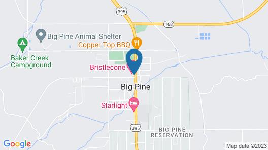 Bristlecone Motel Map
