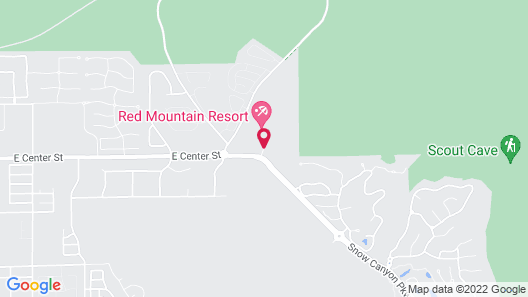 Red Mountain Resort Map