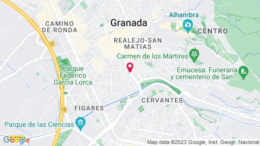 Barceló Carmen Granada Hotel Map