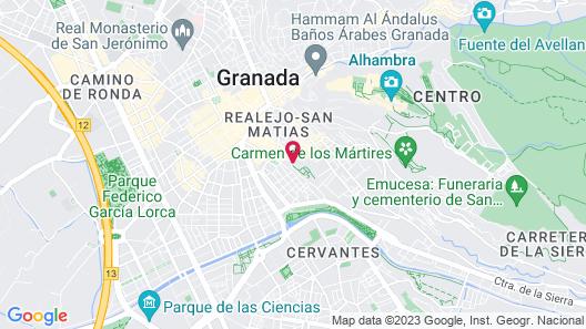 Hotel Carlos V Map