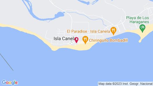 Barceló Isla Canela Map