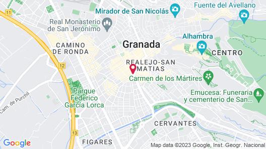 NH Collection Granada Victoria Hotel Map