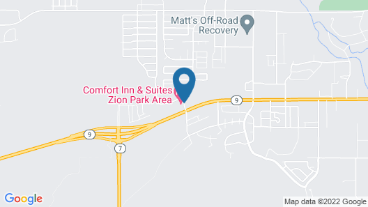 Days Inn by Wyndham Hurricane/Zion National Park Area Map
