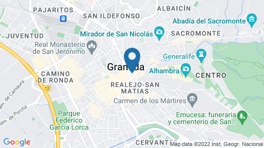 Hotel Anacapri Map