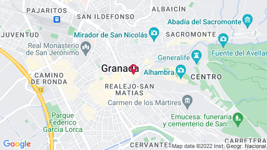 Hotel Macià Plaza Map