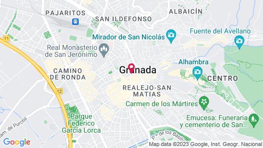 Eurostars Catedral Hotel Map