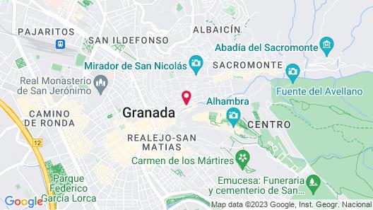 Palacio de Santa Inés hotel Map