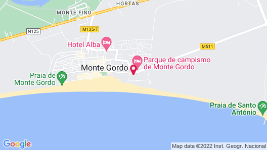 Hotel Apartamentos Dunamar Map
