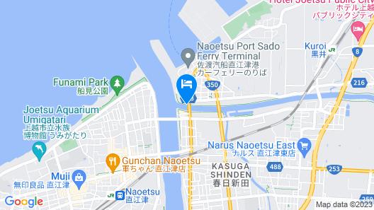 Aikawa Naoetsu Minato Map