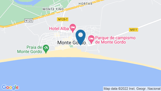 Vasco da Gama Hotel Map