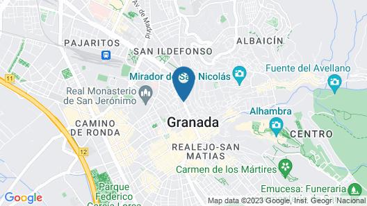 Hotel Palacio de Santa Paula, Autograph Collection Map
