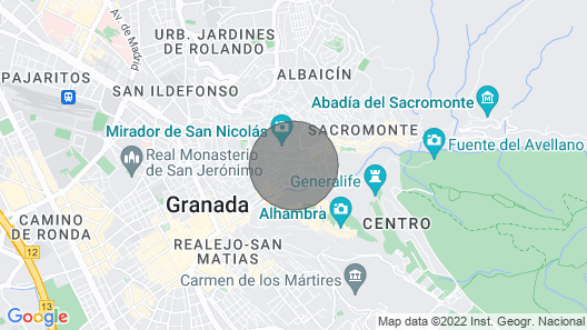 Granada for Lovers Map