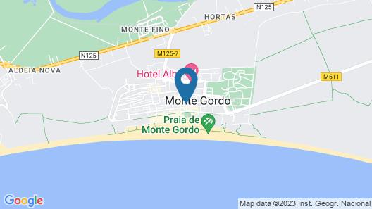Hotel Baía de Monte Gordo Map