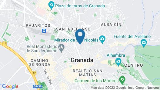 Hostal El Cascabel Map