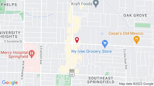 Lamplighter Inn & Suites - South Map