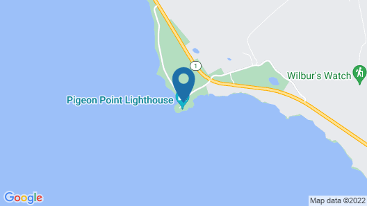HI Pescadero Pigeon Point Lighthouse Map