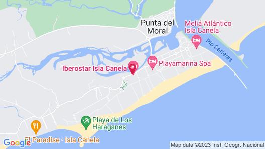 Iberostar Isla Canela Map