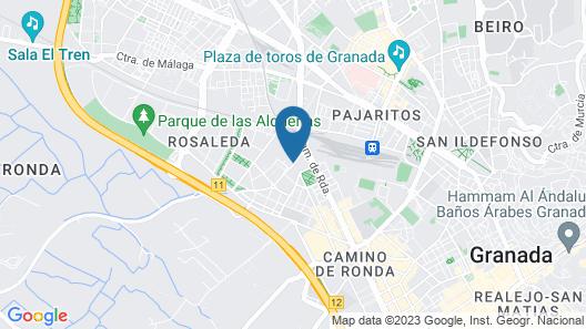 Albergue Inturjoven Granada - Hostel Map