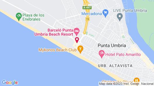Barceló Punta Umbría Mar Map