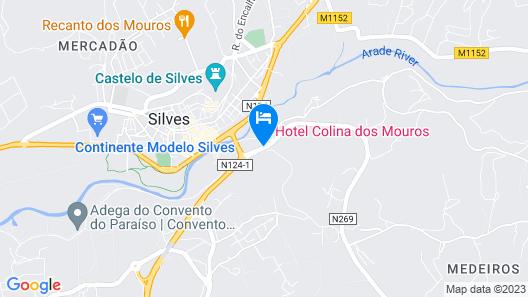 Hotel Colina Dos Mouros Map
