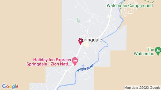 Zion Canyon Lodge Map