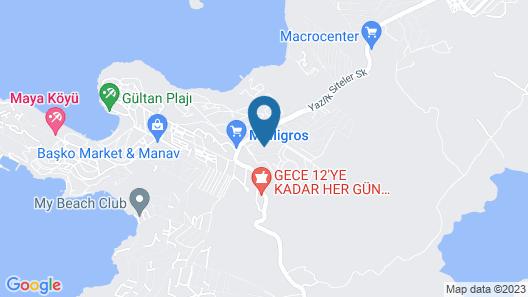 Bodrum Bogazici Turquoise Village Map