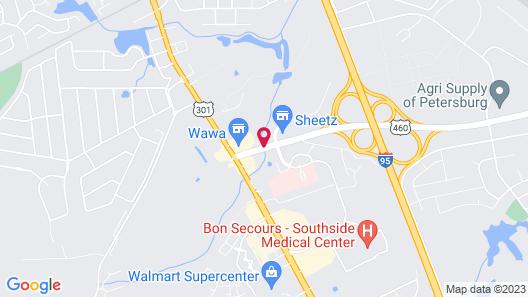 Country Inn & Suites by Radisson, Petersburg, VA Map